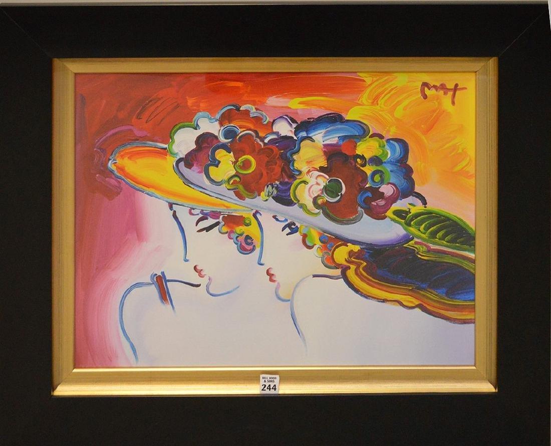 Peter Max (American, born 1937) colored lithograph 16