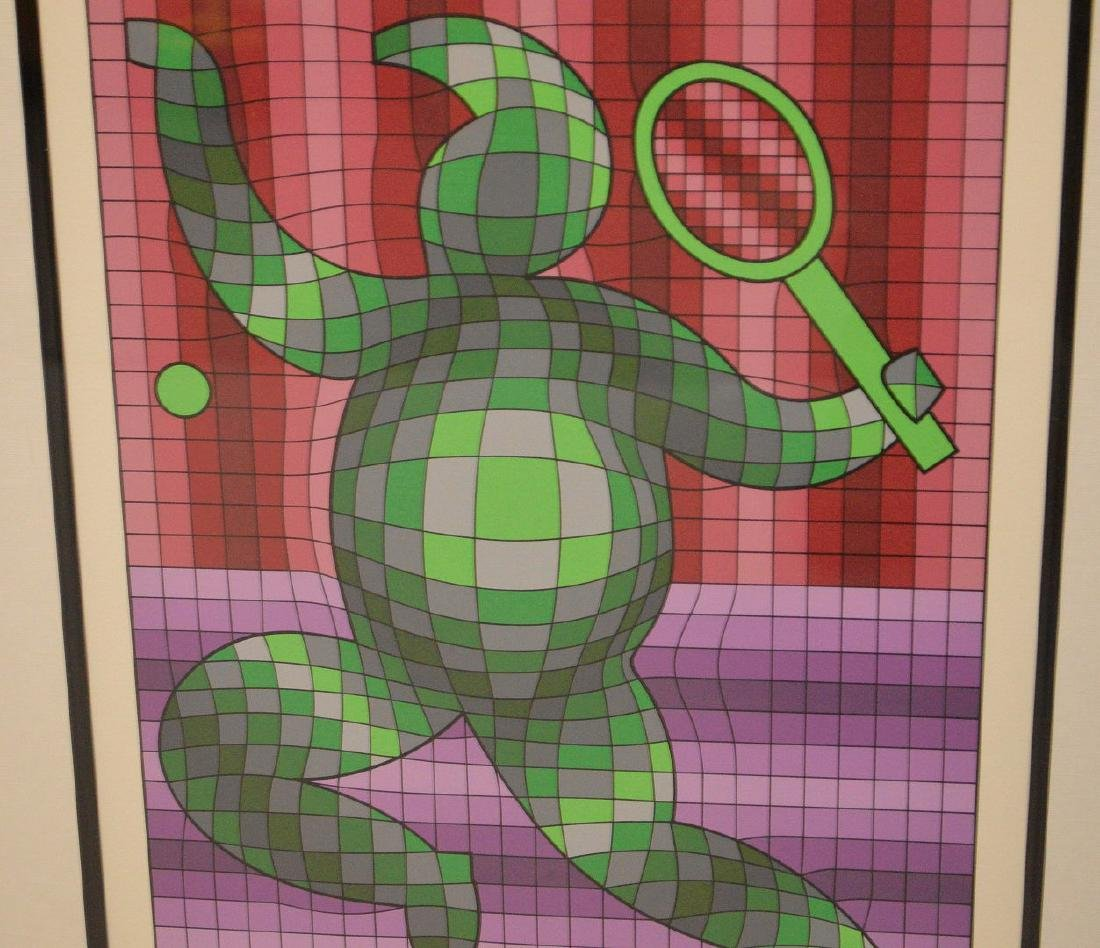 Victor Vasarely (French/Hungarian, 1906-1997) Serigraph - 4