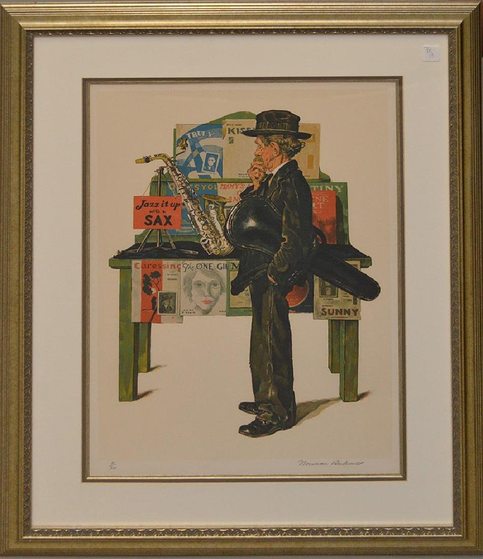 Norman Rockwell, American (1894 - 1978)  Lithograph,