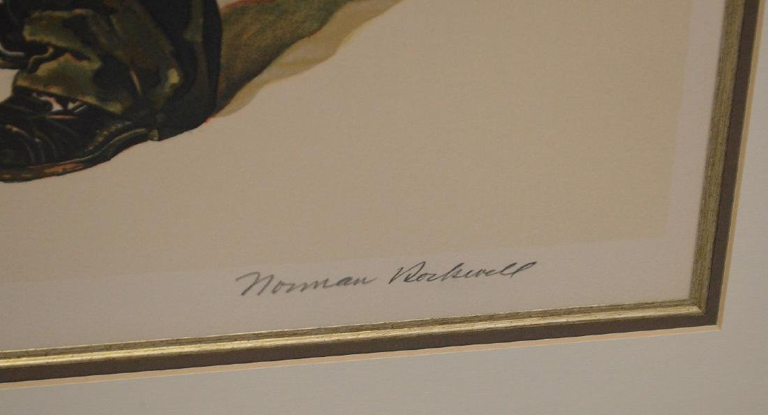 Norman Rockwell, American (1894 - 1978)  Lithograph, - 4