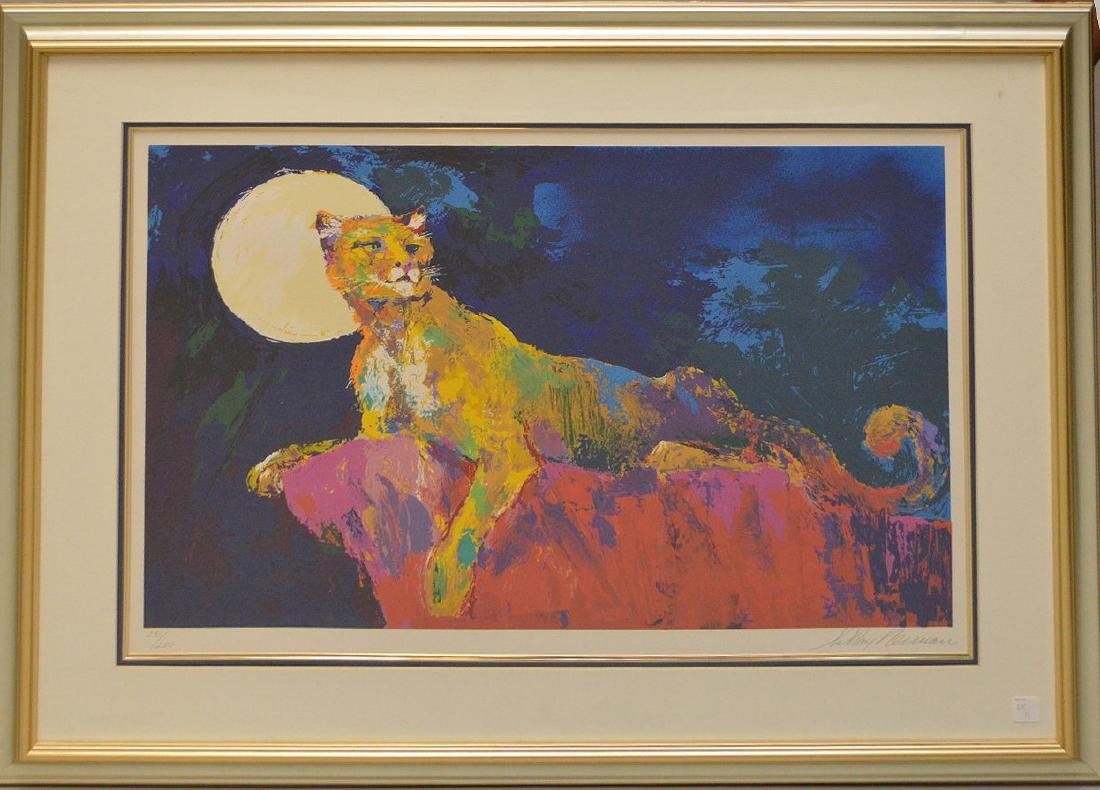 LeRoy Neiman (American 1921 - 2012), Cougar, 1981,
