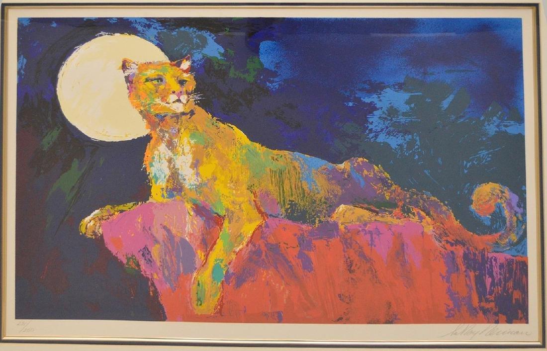 LeRoy Neiman (American 1921 - 2012), Cougar, 1981, - 2