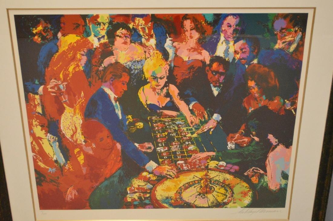 LeRoy Neiman (AMERICAN, 1921–2012) Serigraph, gambling - 2