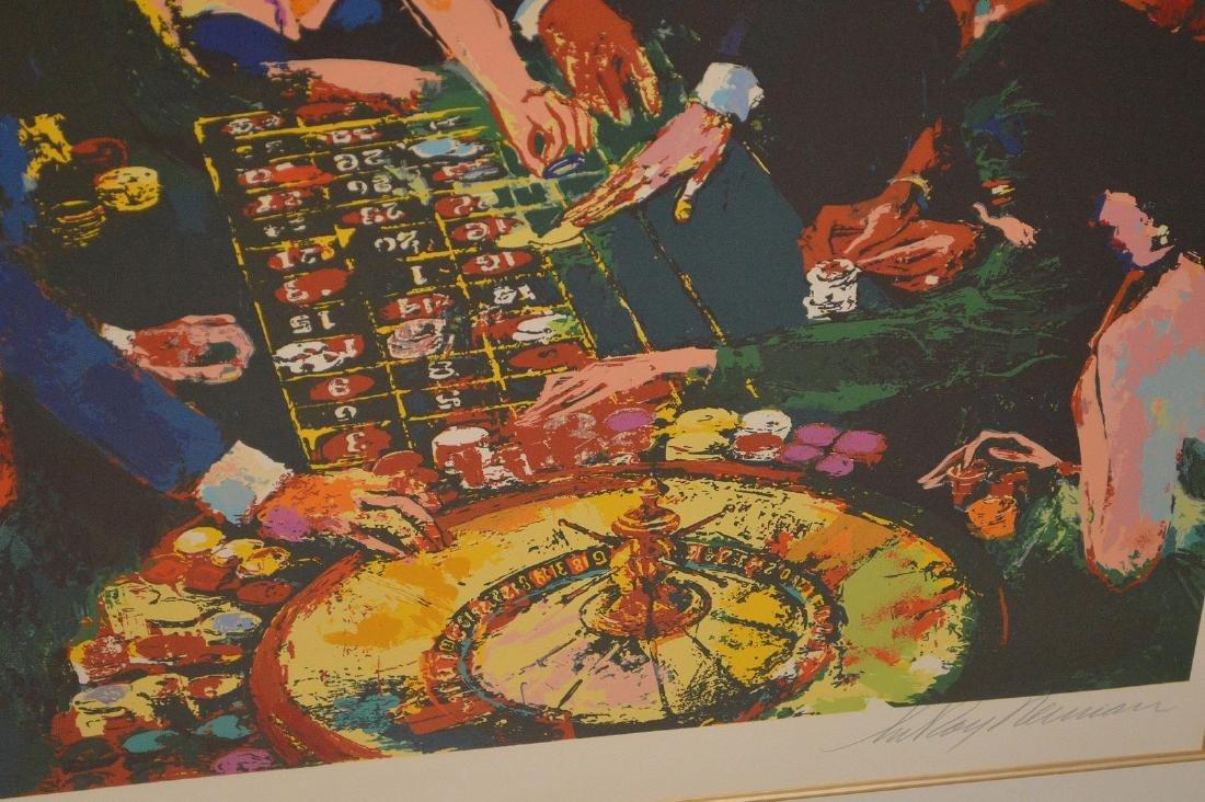 LeRoy Neiman (AMERICAN, 1921–2012) Serigraph, gambling - 3