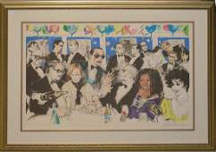 LeRoy Neiman (AMERICAN, 1921–2012) colored lithograph,