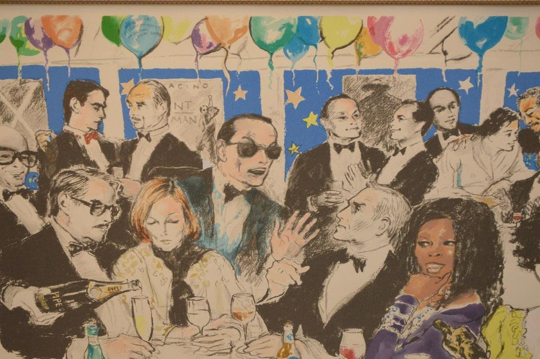 LeRoy Neiman (AMERICAN, 1921–2012) colored lithograph, - 2