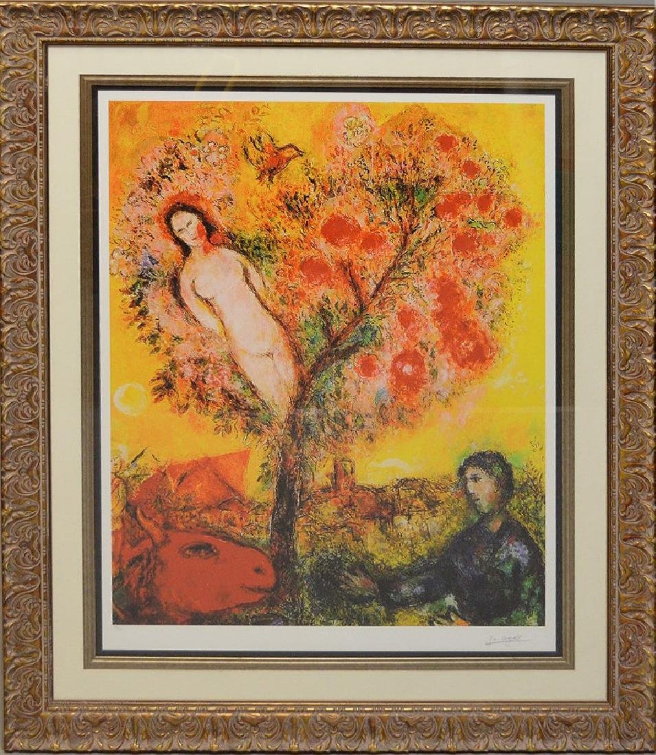 Marc Chagall (FRENCH/RUSSIAN, 1887–1985) Tree over