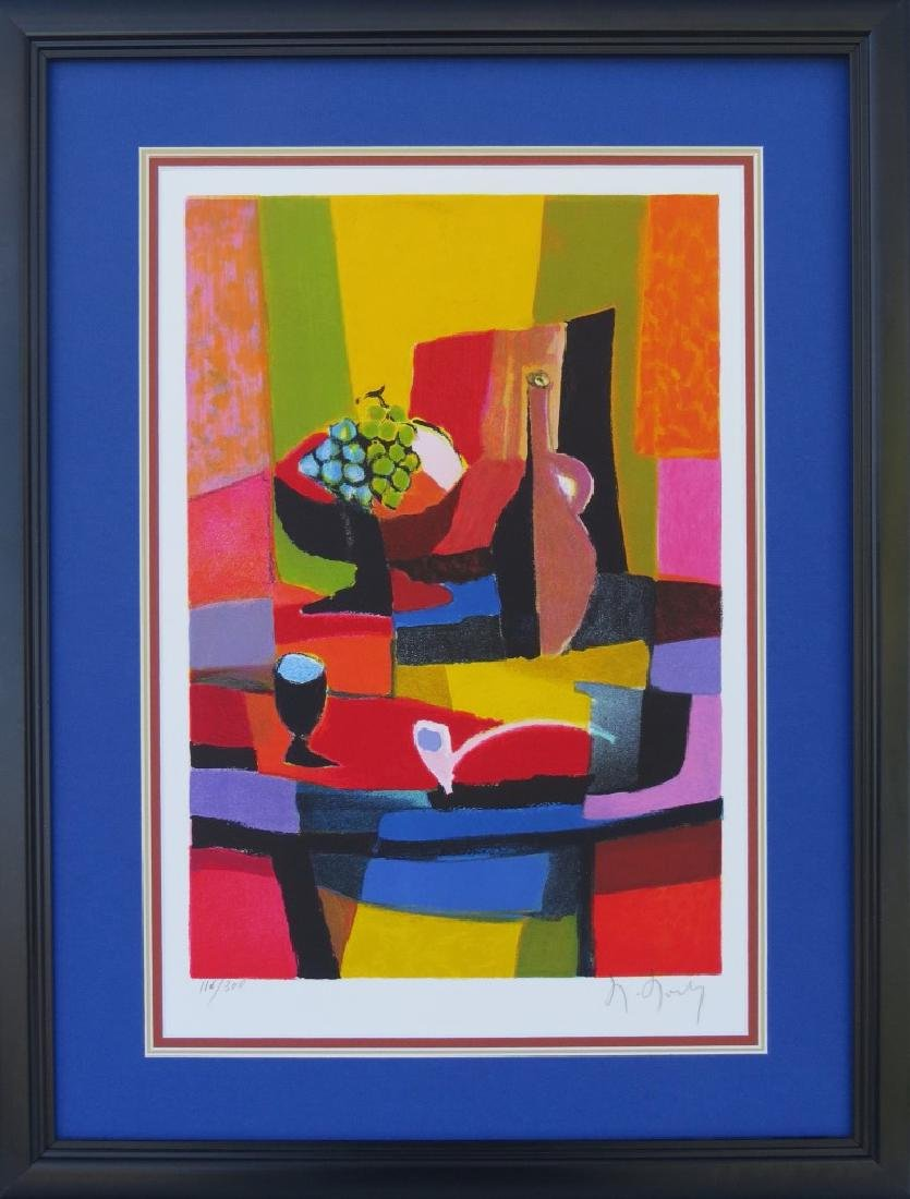 MARCEL MOULY (France, 1918-2008) Color Lithograph on