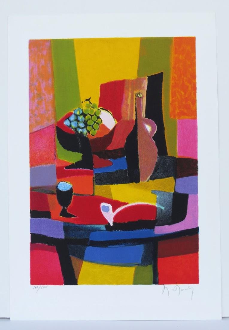 MARCEL MOULY (France, 1918-2008) Color Lithograph on - 5