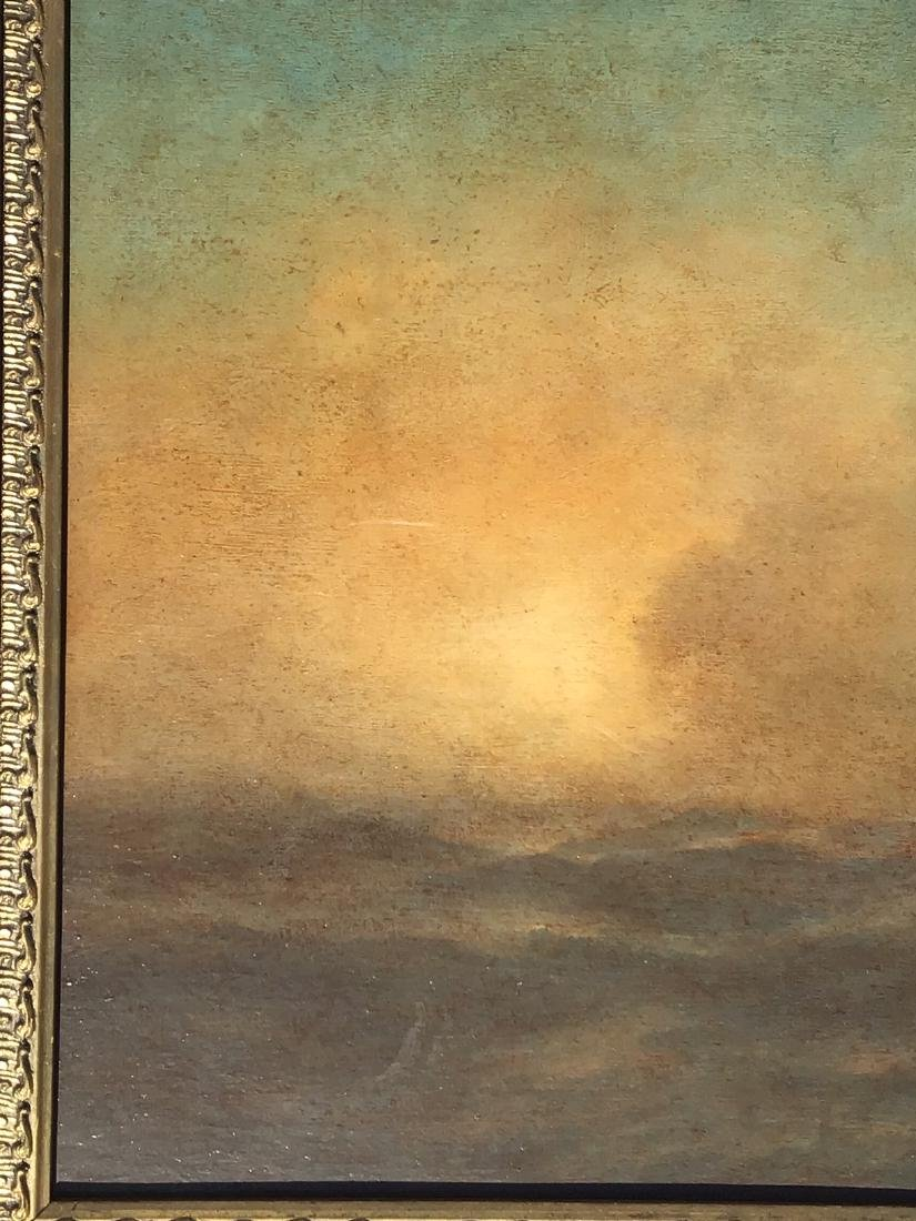 Attributed to: Ivan Aivazovsky, Russian oil on board, - 6