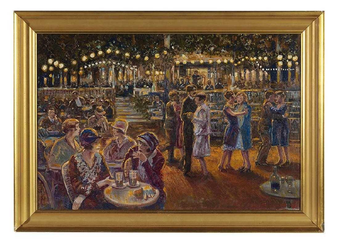 Pierre Guillaume (Dutch, b. 1954) oil on canvas,