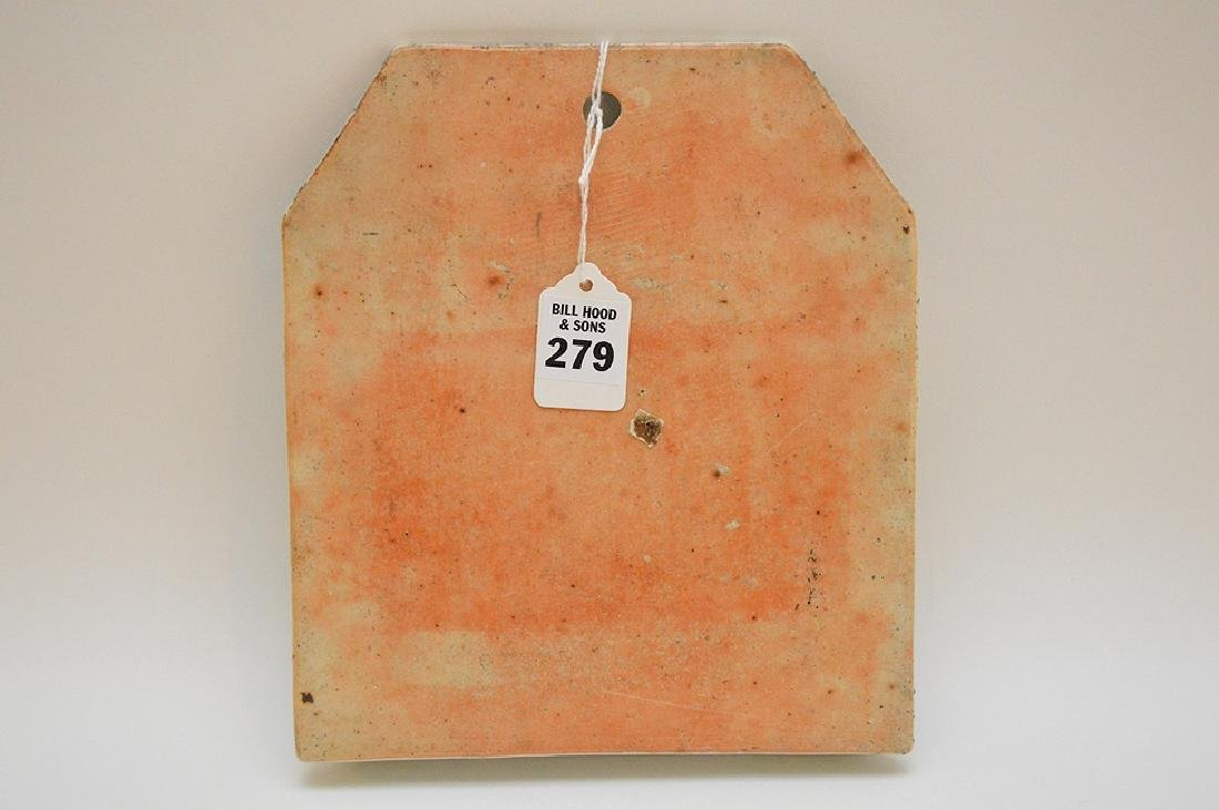 CHINESE REPUBLIC PERIOD PORCELAIN WALL POCKET - - 4
