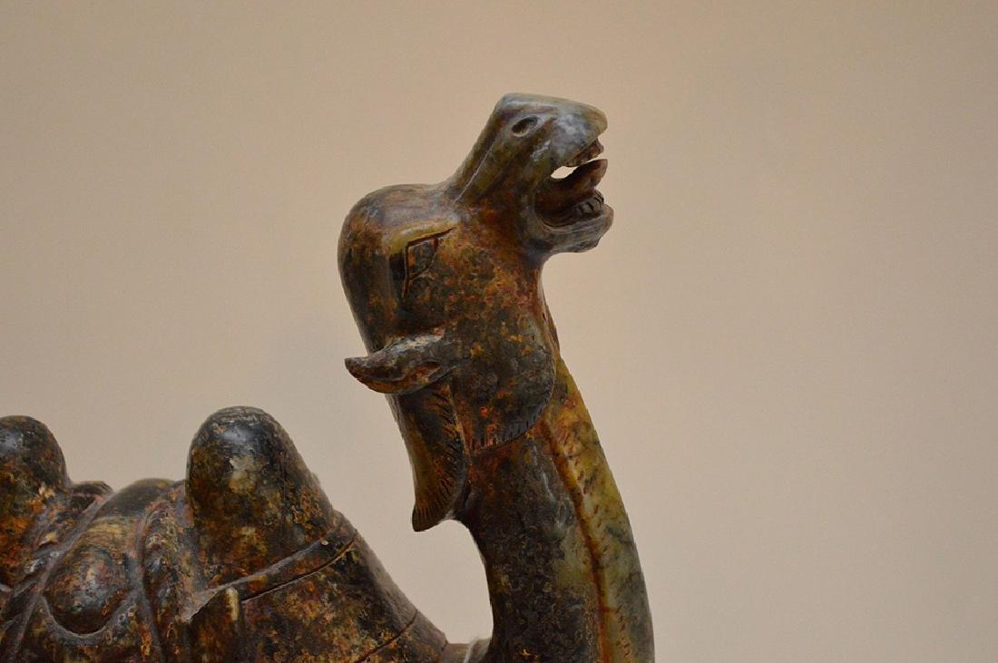 """Soapstone camel, 11 1/8""""h x 8""""w - 3"""