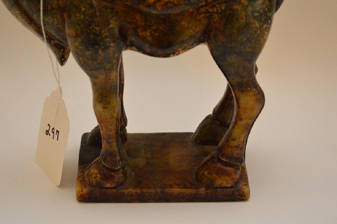 """Soapstone camel, 11 1/8""""h x 8""""w - 6"""