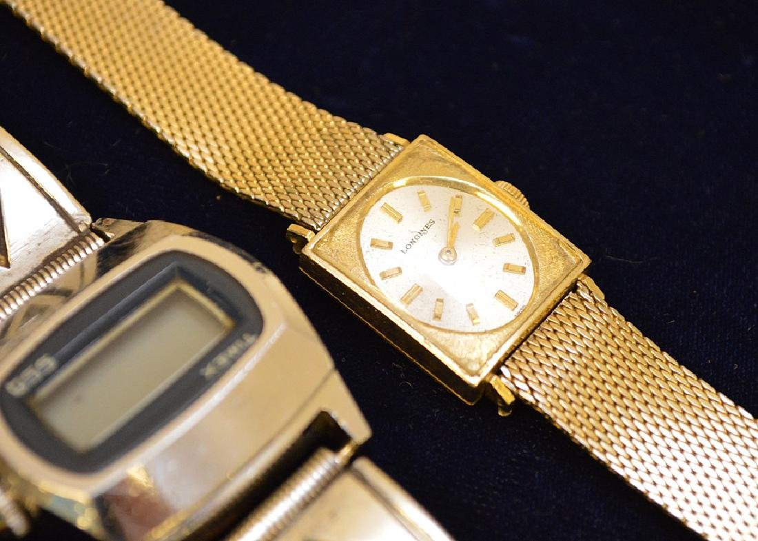 Jewelry lot 2 watches Timex and Longines 10k gold - 5
