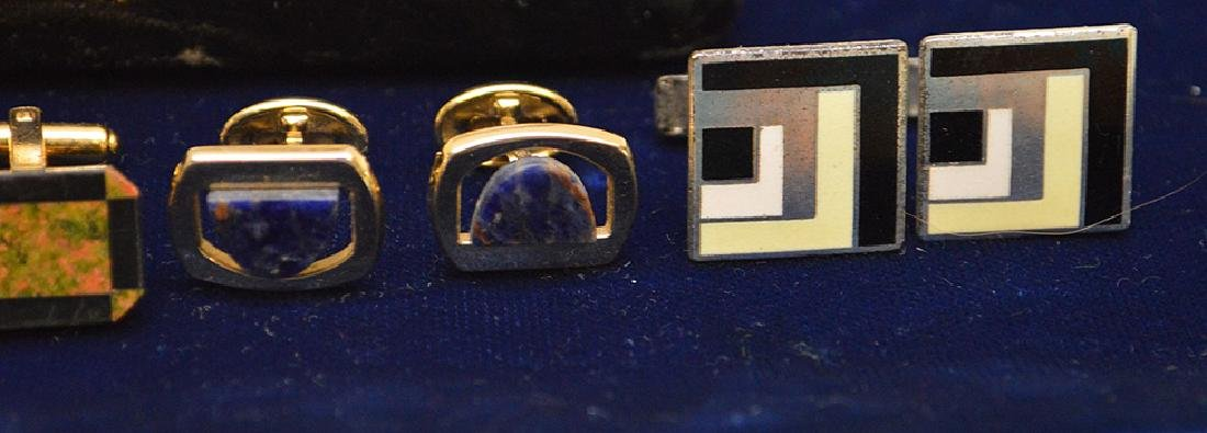 Lot of Cufflinks 1 is Sterling, Nordstrom, hayward and - 3