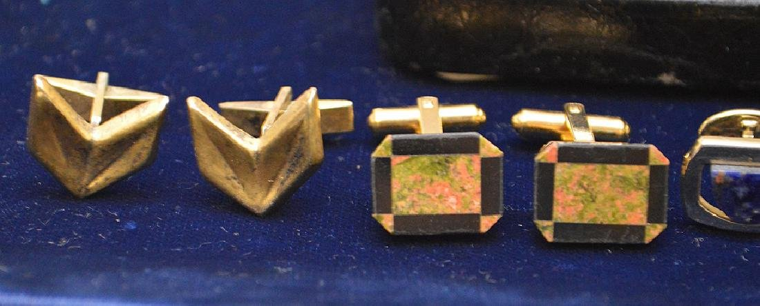 Lot of Cufflinks 1 is Sterling, Nordstrom, hayward and - 4