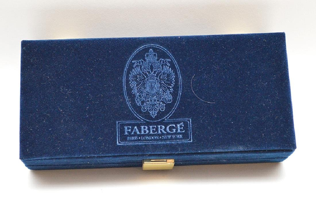 Faberge Imperial Collection Enamel Egg & Crystal Wine - 4