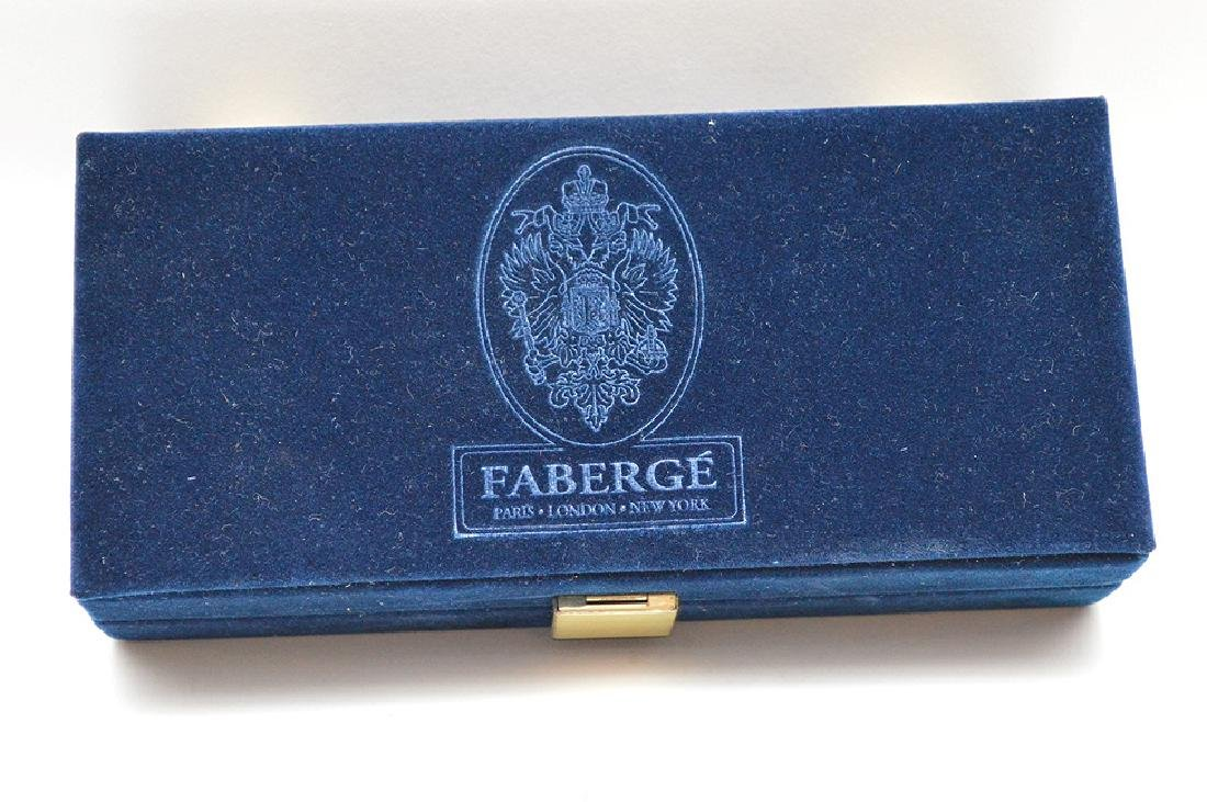 Faberge Imperial Collection Enamel Egg & Crystal Wine - 5