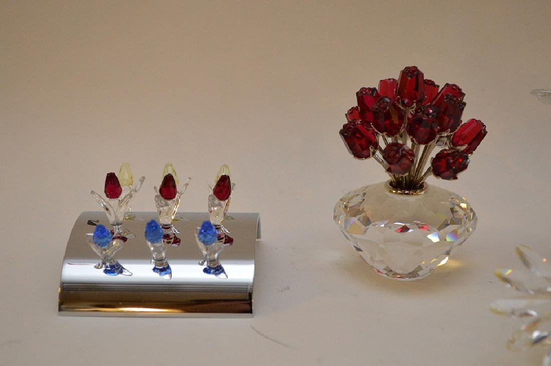 Swarovski Flower and Diamond lot of 12 - 5