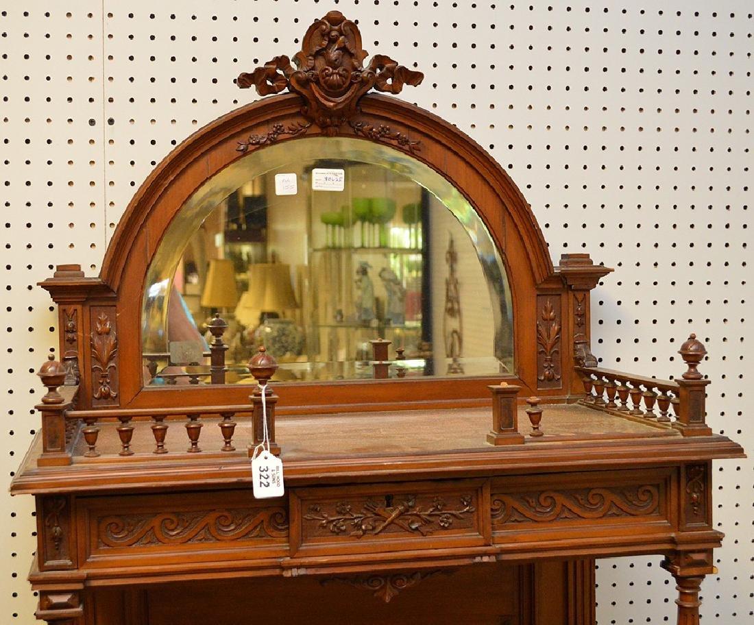 Walnut Music Cabinet, Origin: France  Circa: 1890, - 3