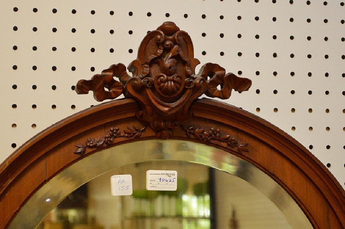 Walnut Music Cabinet, Origin: France  Circa: 1890, - 4