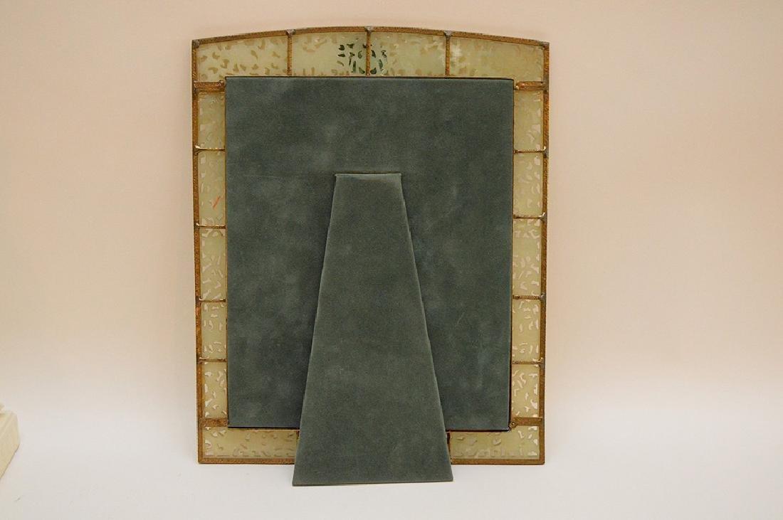 """Carved jade frame, 11"""" x 14"""" - 4"""