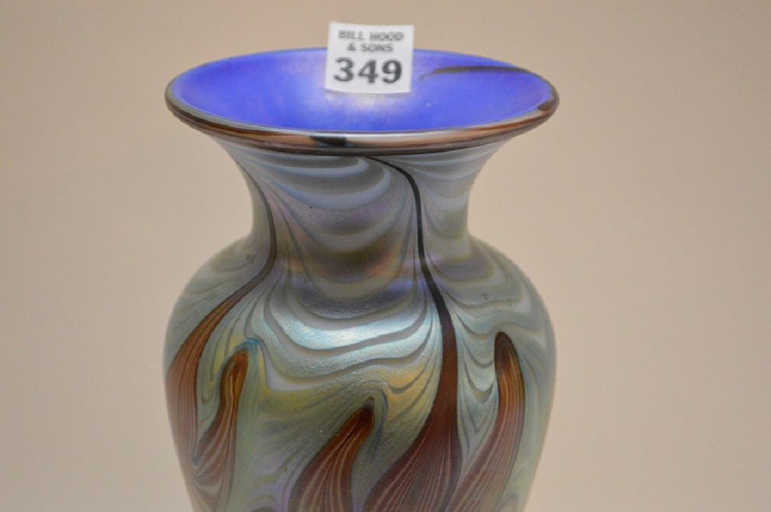 """Art glass vase, 11 1/4""""h - 2"""
