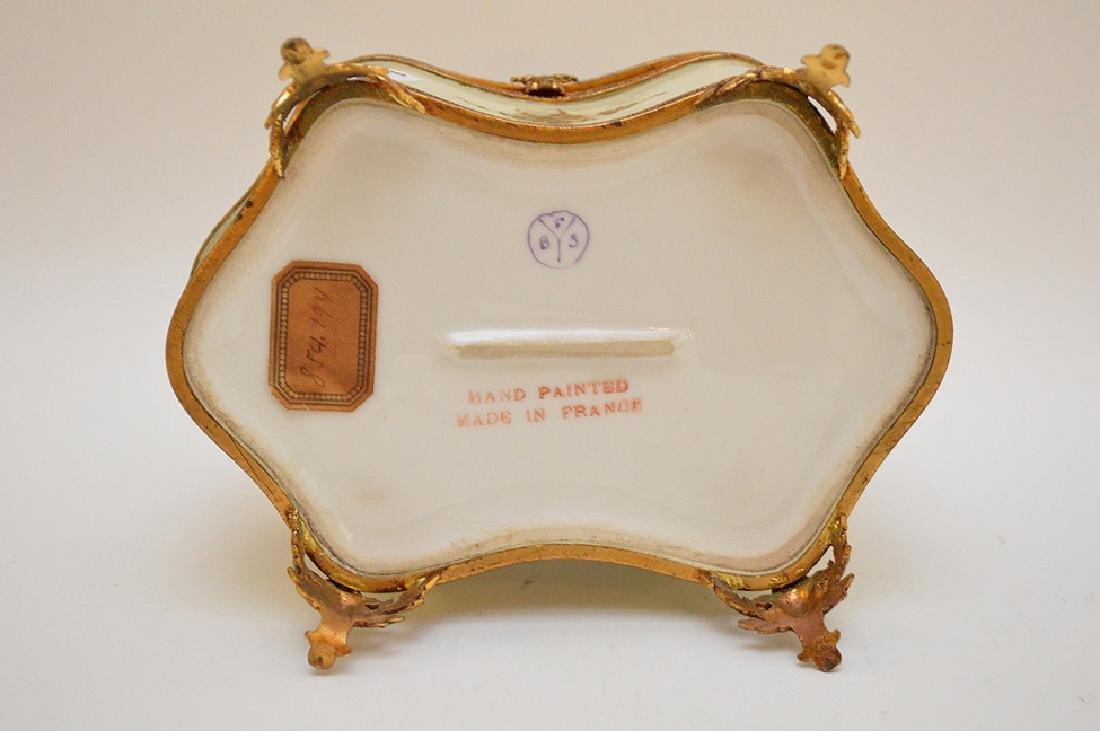 "French dresser box, 6 1/2"" x 4 1/2"" - 8"