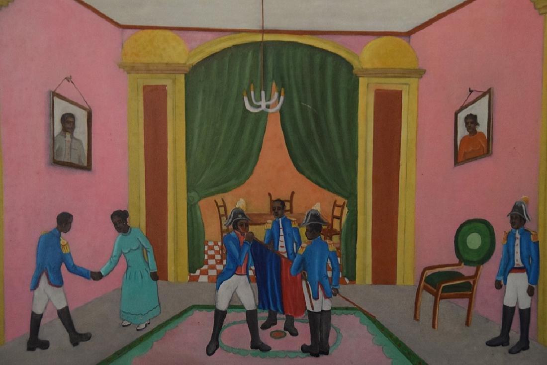 Obin Michaelle (Cap Haitien). Grand-daughter of Philome - 2