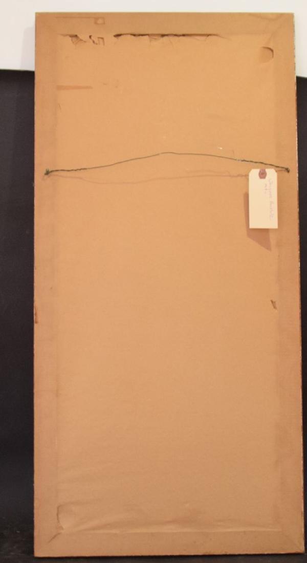 Buchholz, oil on canvas modern still life, 35 x 17 - 5