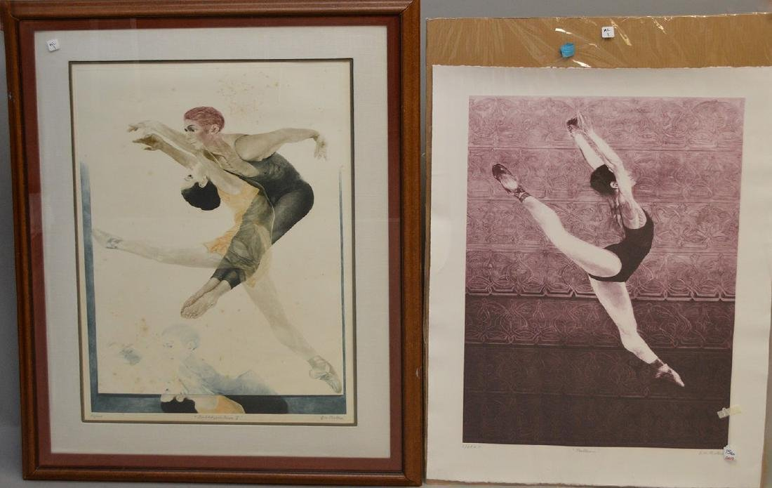 Two (2) G.H. ROTHE Mezzotint Etchings sold together,