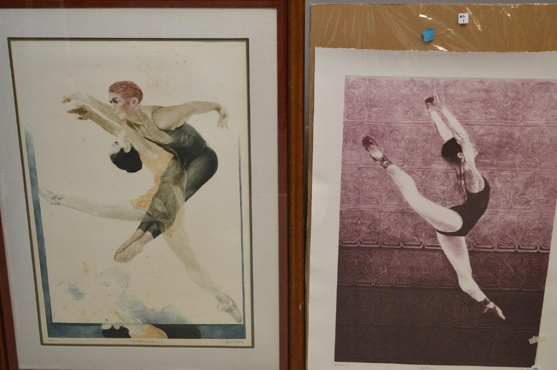 Two (2) G.H. ROTHE Mezzotint Etchings sold together, - 2