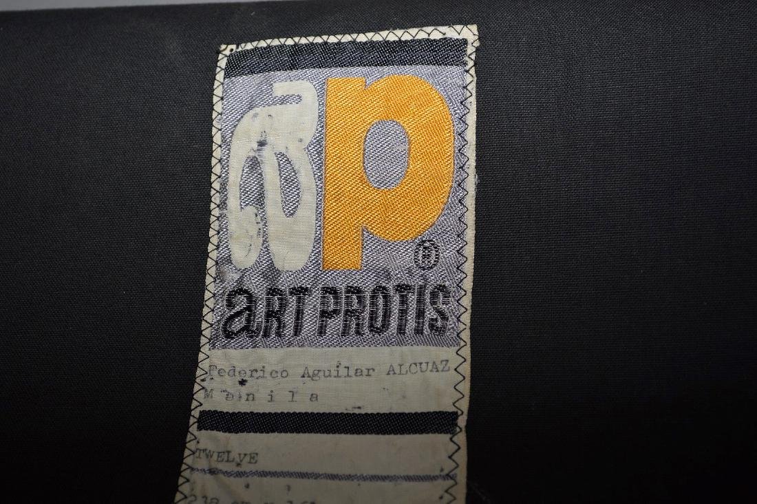 "Federico Aguilar Alcuaz (1932-2011) Tapestry ""Twelve"" - 10"