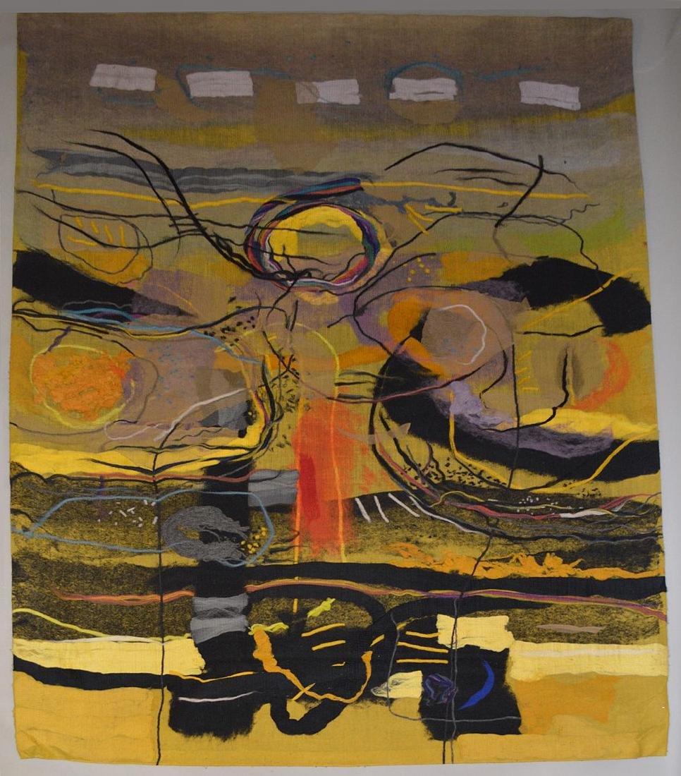 "Federico Aguilar Alcuaz (1932-2011) Tapestry ""Twelve"""