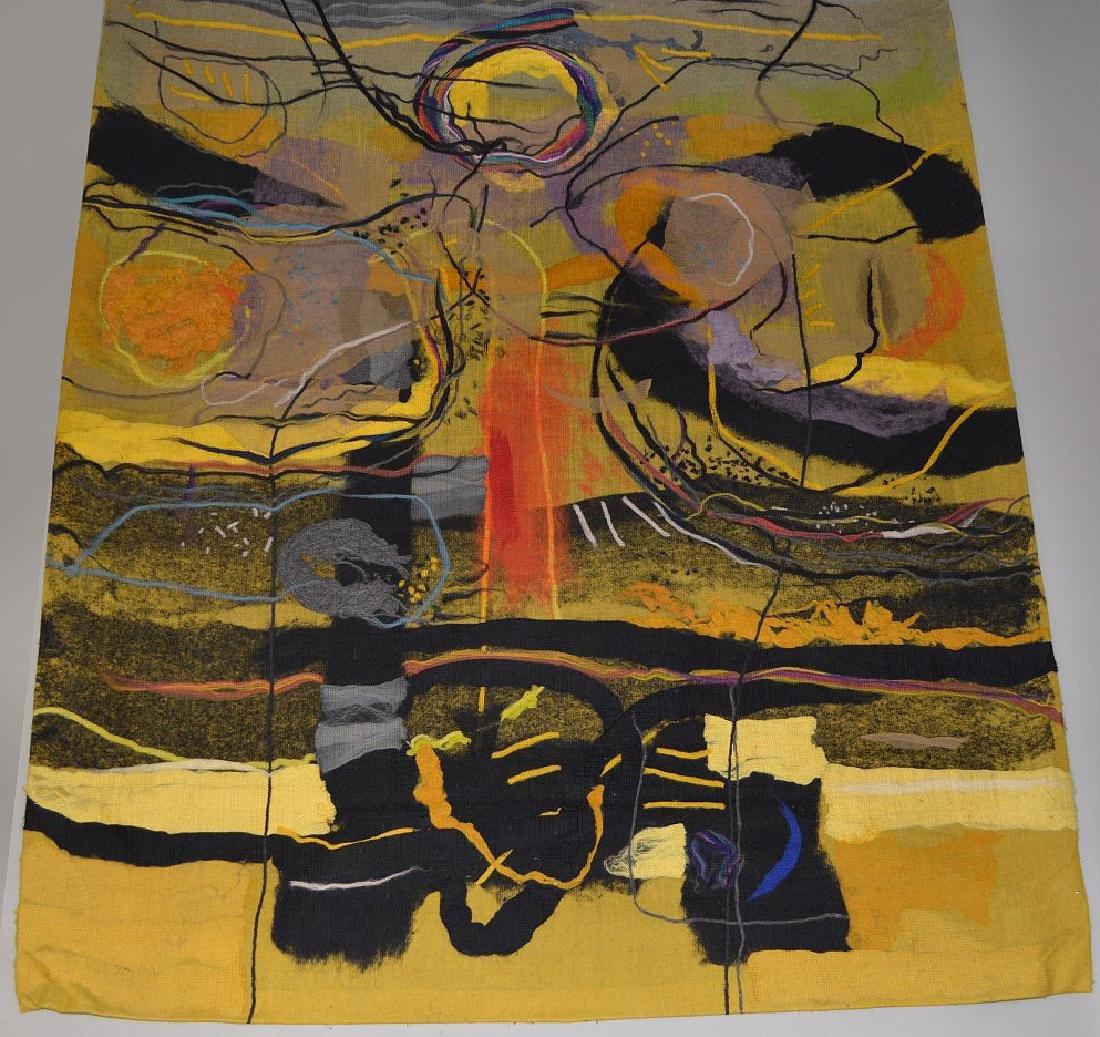 "Federico Aguilar Alcuaz (1932-2011) Tapestry ""Twelve"" - 2"