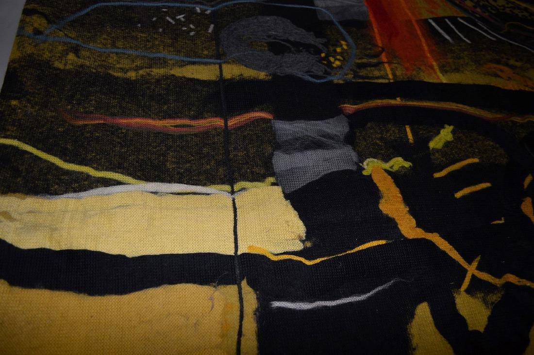 "Federico Aguilar Alcuaz (1932-2011) Tapestry ""Twelve"" - 4"