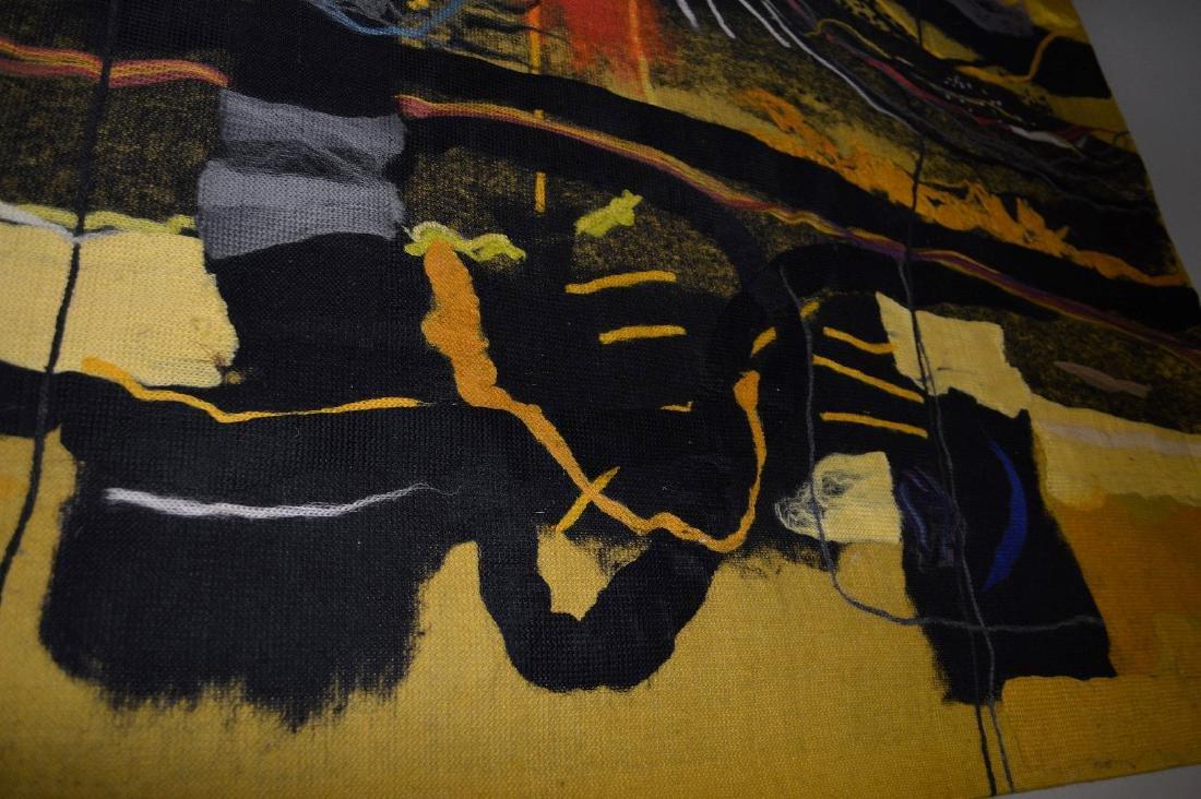 "Federico Aguilar Alcuaz (1932-2011) Tapestry ""Twelve"" - 5"