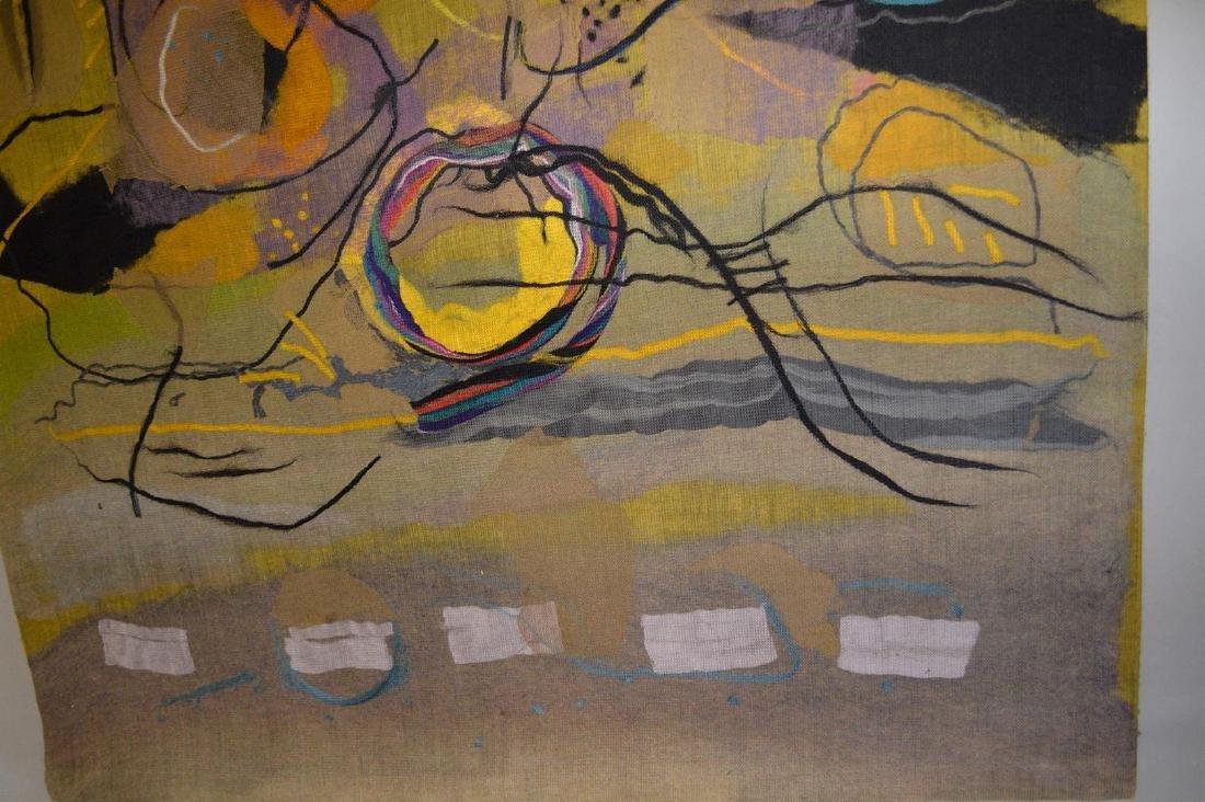 "Federico Aguilar Alcuaz (1932-2011) Tapestry ""Twelve"" - 6"
