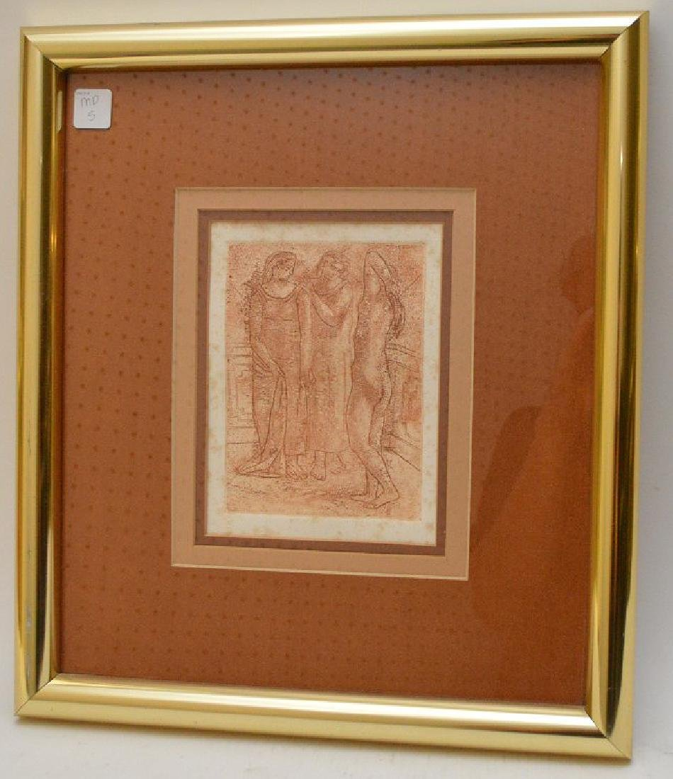"""Pablo Picasso (1881-1973) Original Etching Titled """"The"""