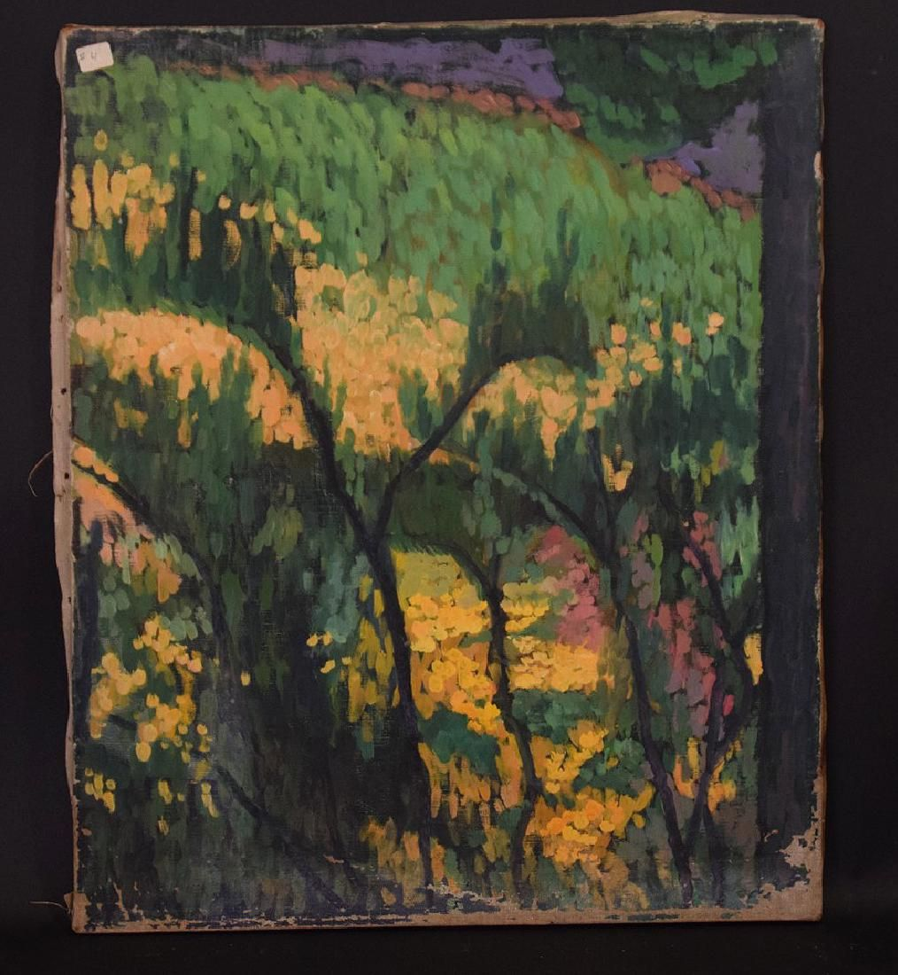 William Auerbach-Levy  (Russian 1889 - 1964) oil on
