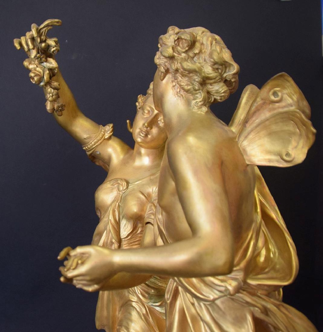 French Bronze Allegorical Sculpture Jean Louis Gregoire - 10