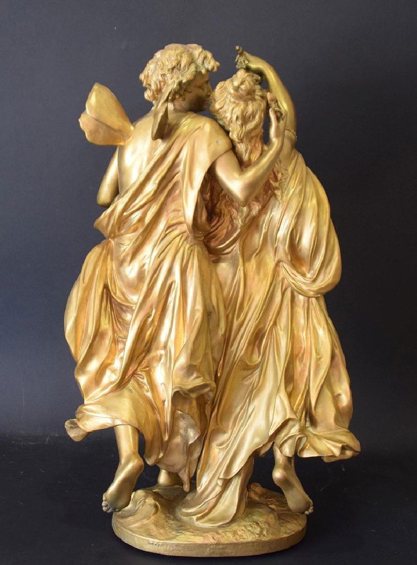 French Bronze Allegorical Sculpture Jean Louis Gregoire - 2