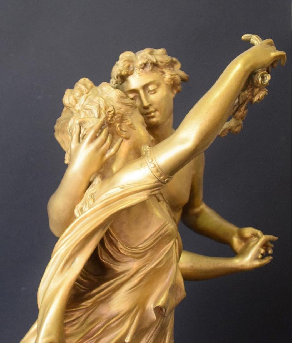French Bronze Allegorical Sculpture Jean Louis Gregoire - 3