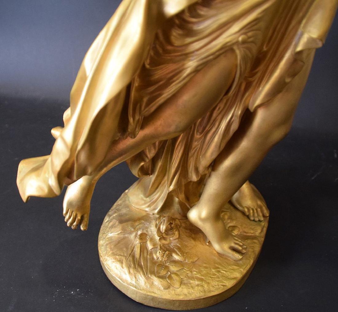 French Bronze Allegorical Sculpture Jean Louis Gregoire - 6
