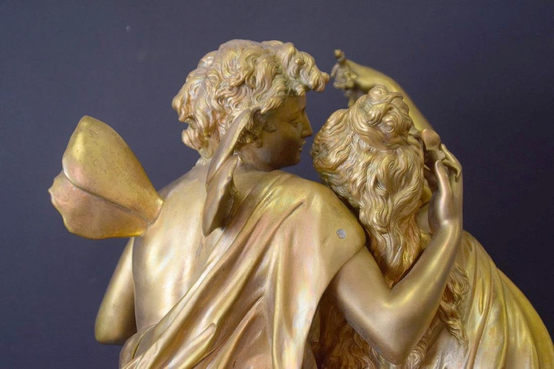 French Bronze Allegorical Sculpture Jean Louis Gregoire - 8