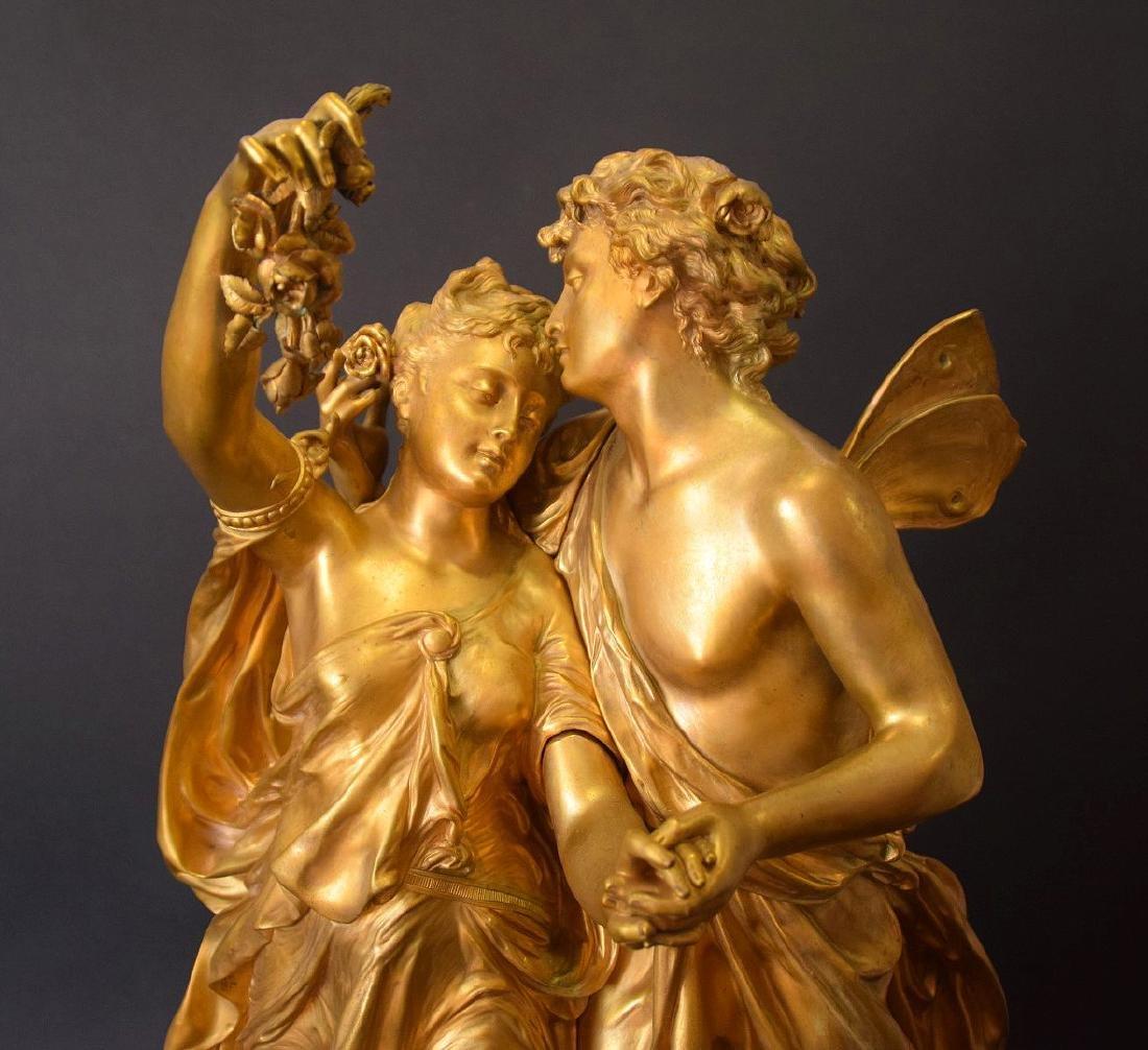 French Bronze Allegorical Sculpture Jean Louis Gregoire - 9