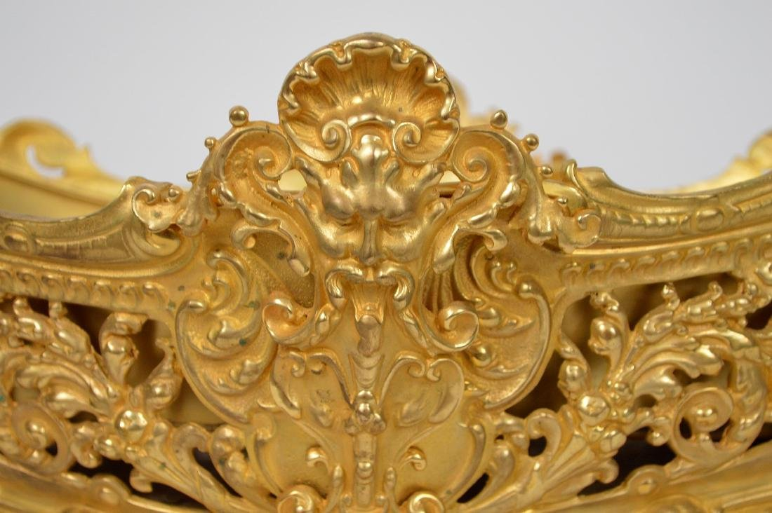 19th Century French Gilt Bronze Center Bowl.  Condtion: - 2