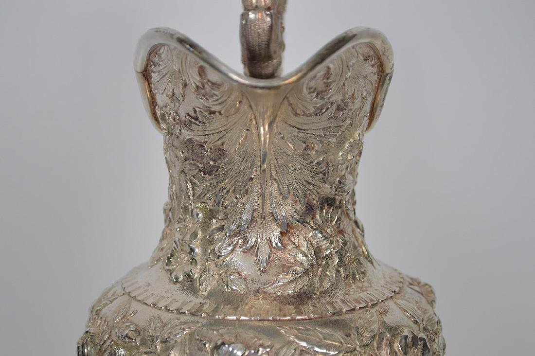Large Kirk Sterling Repousse Pitcher, 36 ozt - 6
