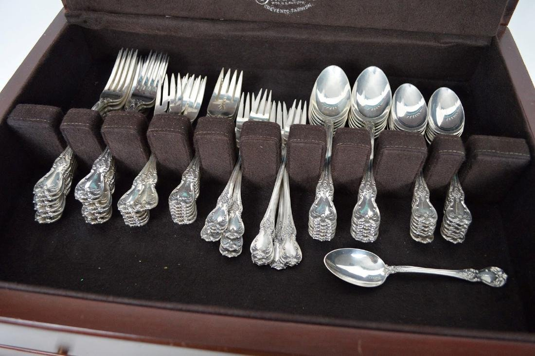 Towle Old Master Sterling Silver Flatware Set, 78 troy - 2